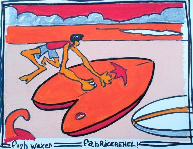Fabrice Réhel - fish-waxer