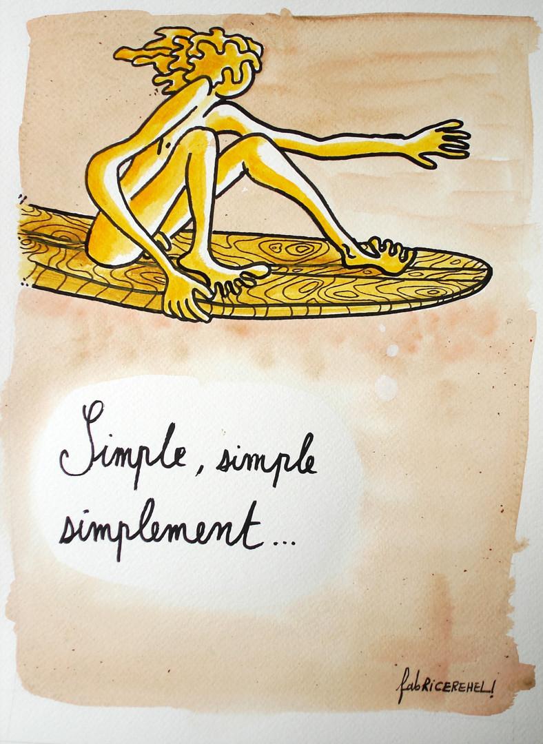 Fabrice Réhel - Simple, simple, simplement