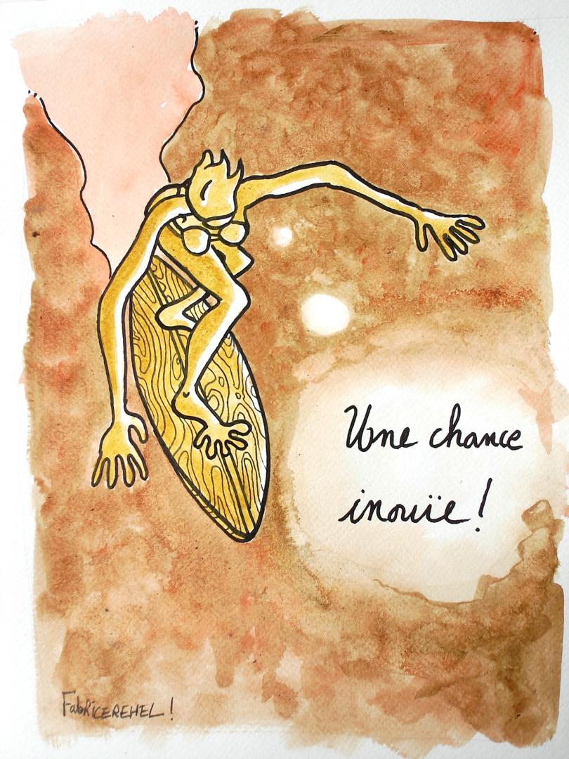 Fabrice Réhel - Une chance inouïe !